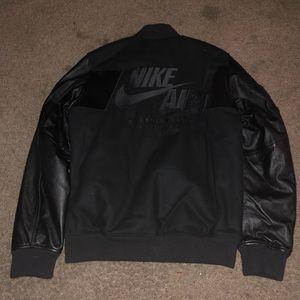 b607e3025dcf4 Nike Jackets   Coats - Nike destroyer men s M leather wool jacket NWT